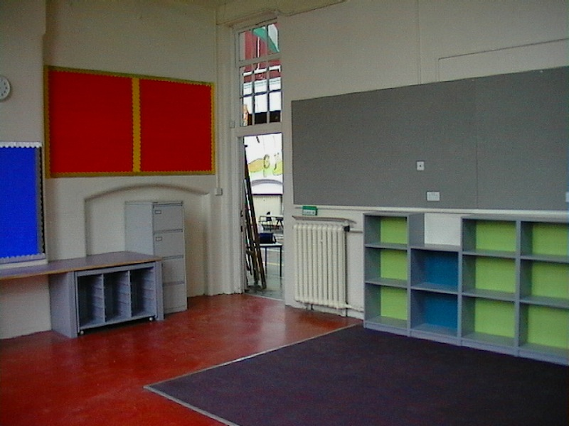Don't the rooms look neat, before all the children come back from holiday!