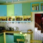 Bamber's Special Projects ~ Colourful kitchen 02