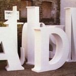Bamber's Special Projects ~ Giant letters 01