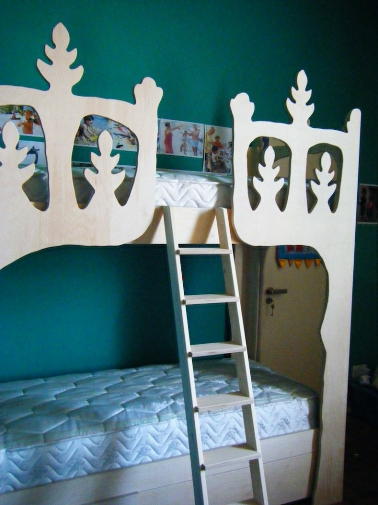 Bamber's Special Projects ~ Kids' bunk bed 02