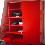 All MDF construction, spray painted. Client got carried away with the colour charts!